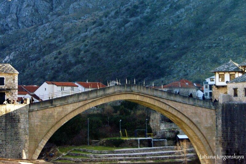 Вид на мост с Куюнджилука