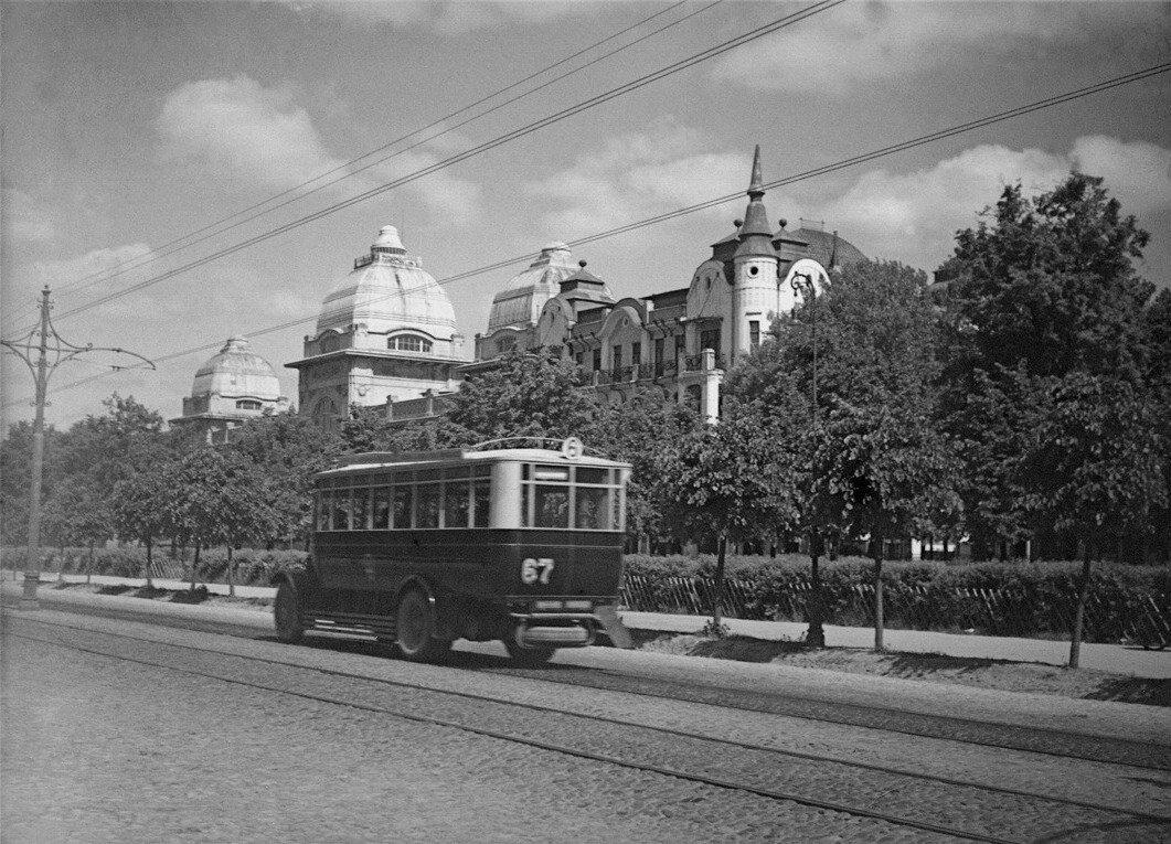 1930. Ленинградский проспект. Бывший ресторан «Яр»