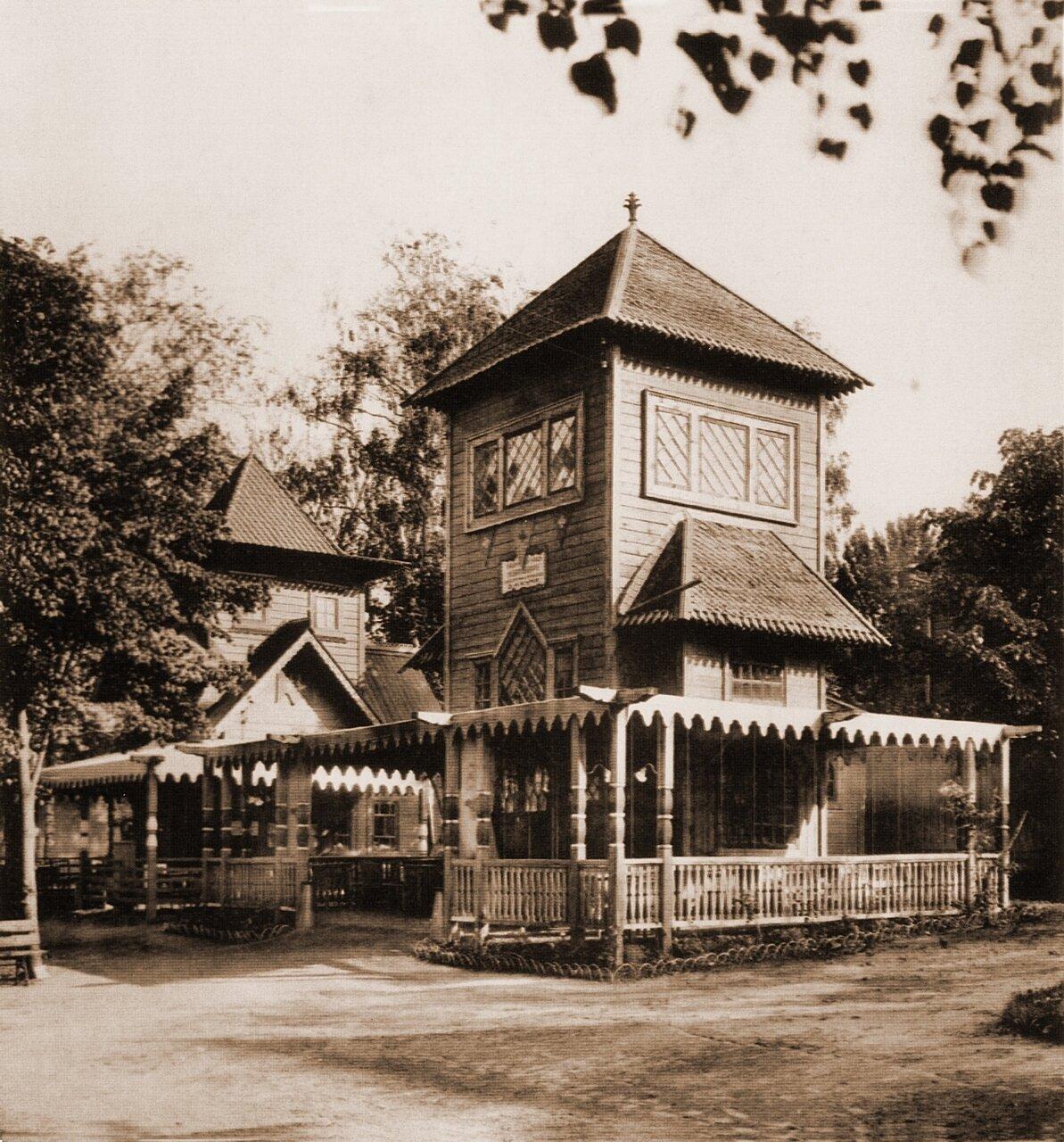 Павильон Пивоваренного завода «Новая Бавария»