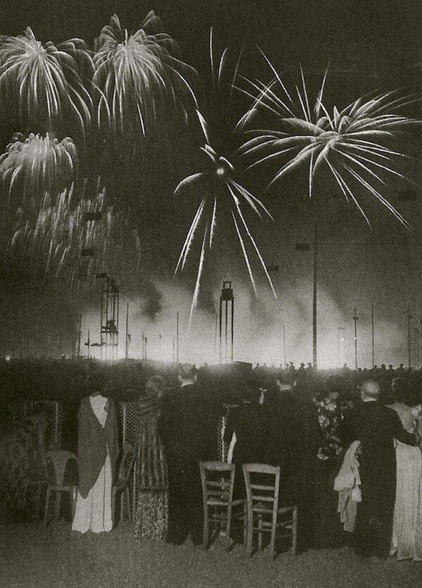 1936. Ночь в Лоншане