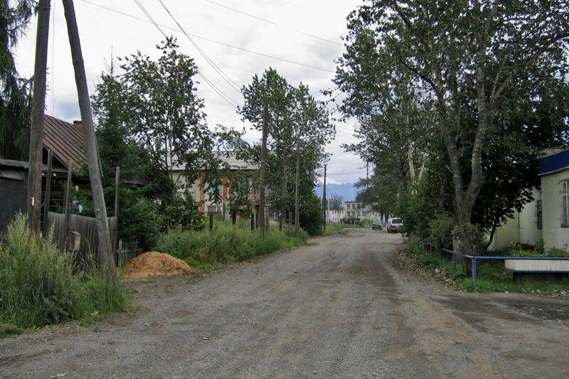 Поселок на Камчатке