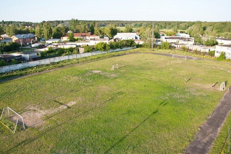 футбольный стадион сатис