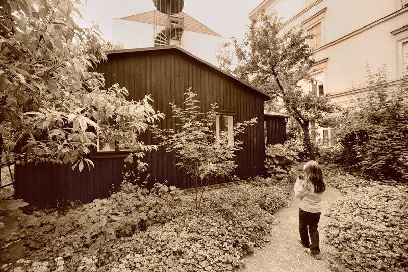 репортаж о доме великого фотографа Йозефа Судека