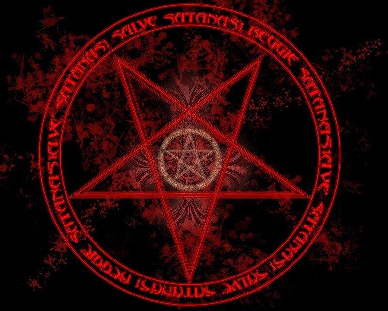 печать сатаны картинки: