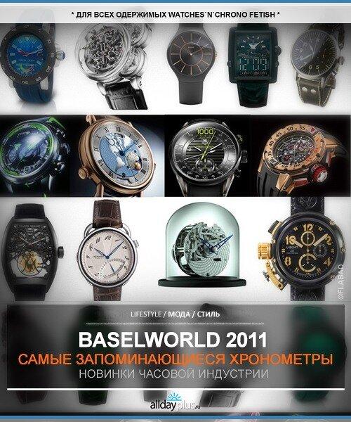 Лучшие хронографы с часовой выставки  BASELWORLD`2011 / 70 экземпляров лучших из лучших часовых моделей этого года.