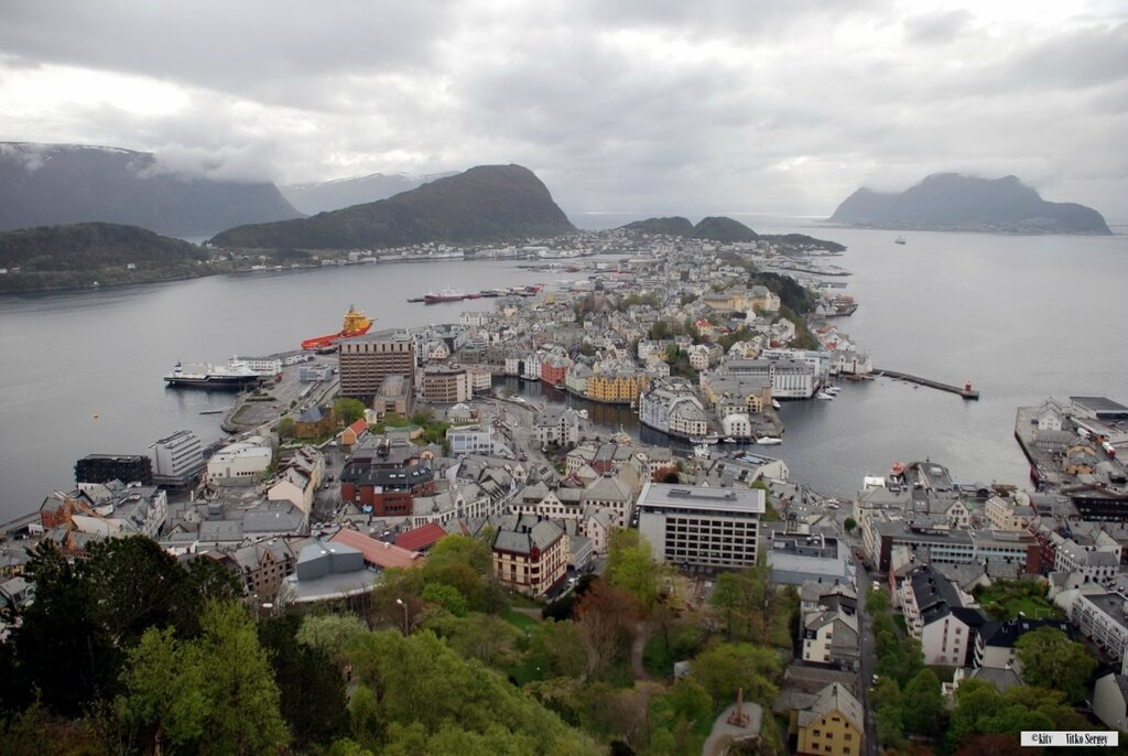 Алесунд норвегия фото