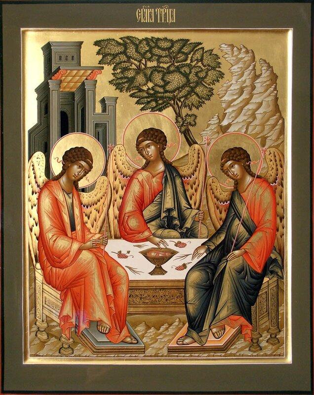 семинар каноническому икона святая троица и поздравление это