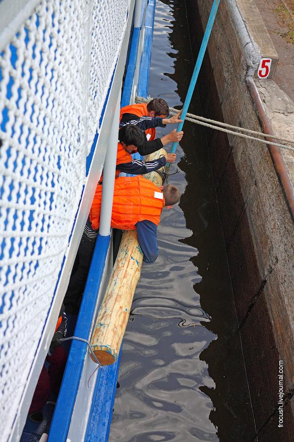 шлюз «Трудкоммуна» Бесединского гидроузла