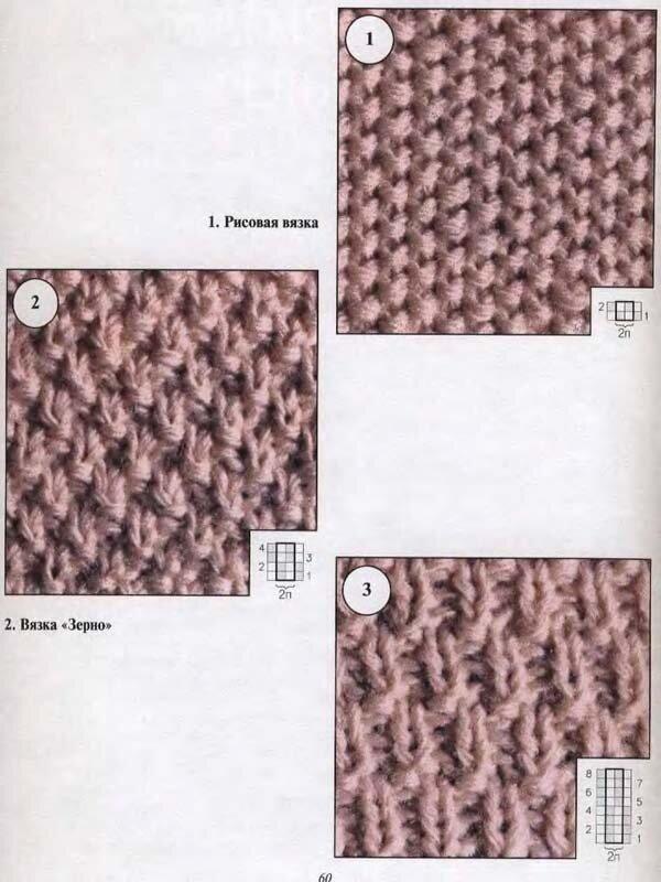 Путанка фото спицами схема следок вязки
