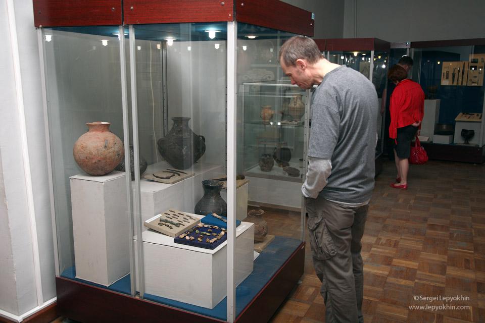 Акция «Ночь в музее» в Волгоградском областном краеведческом музее.