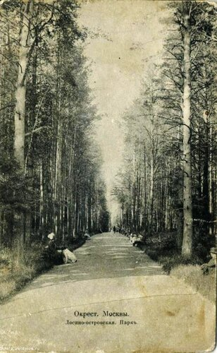 1913 год, Бабушкинский парк, главная аллея