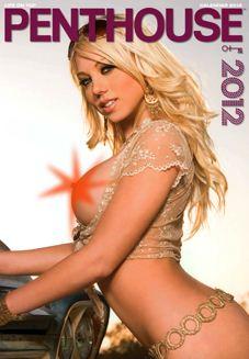 эротический календарь на 2012 год журнала Penthouse Germany calendar
