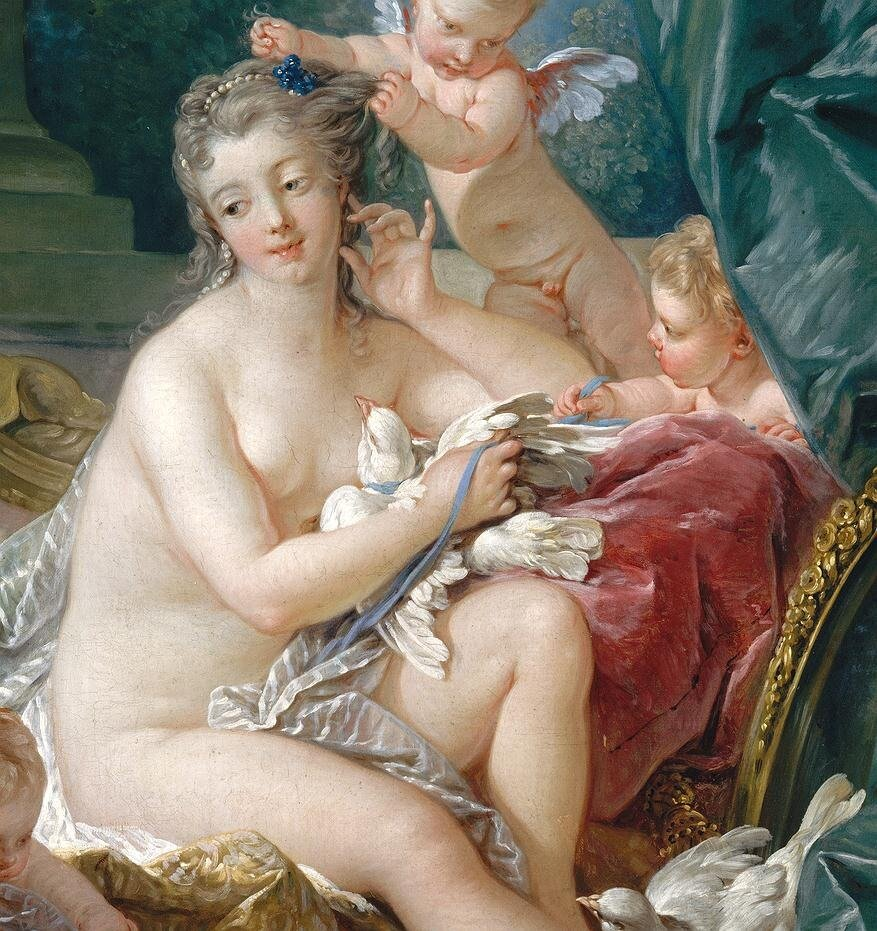 Буше. Туалет Венеры, 1751