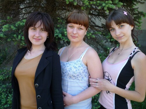 А.Семенова, М.Смирнова, В.Лебедева (слева направо)