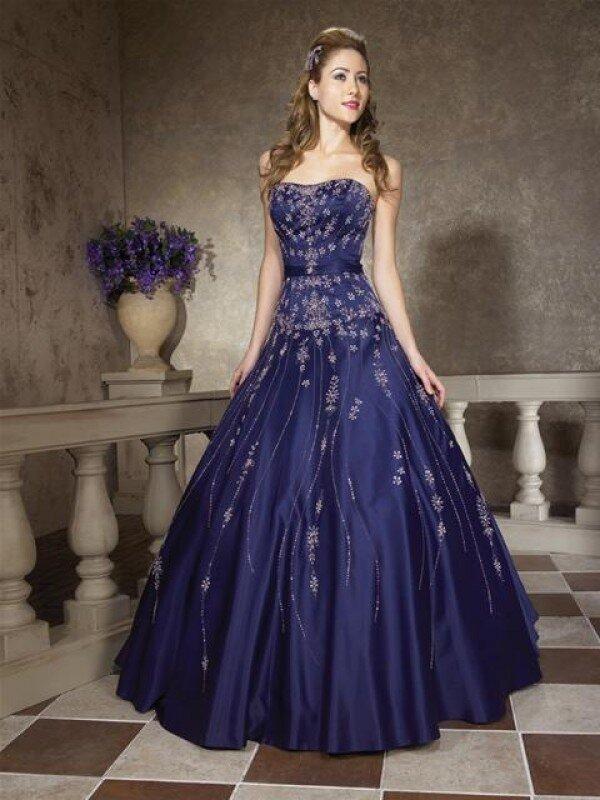 Платье сапфир фото 1658