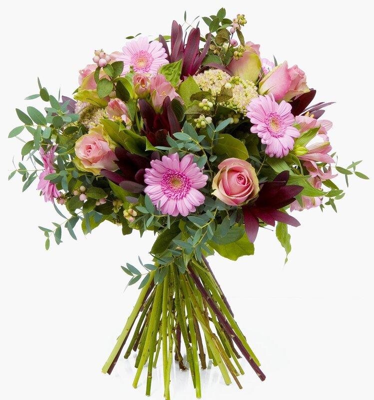 Букет цветов для мужчины открытка