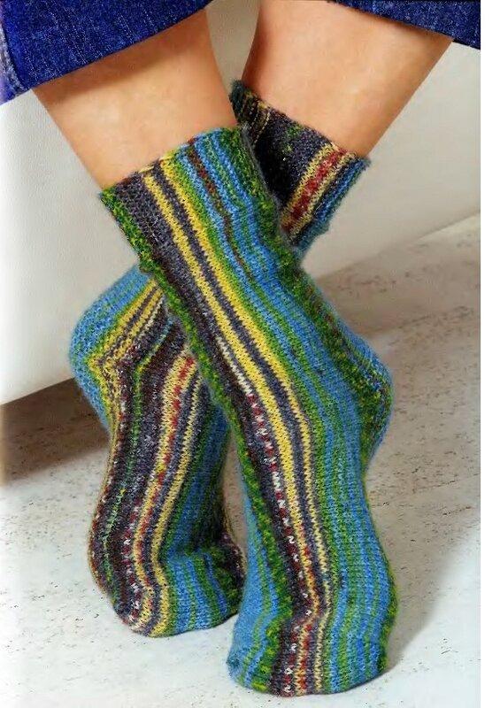 Вязать носки без пяток