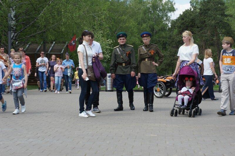 9 мая - День Победы в парке Кузьминки