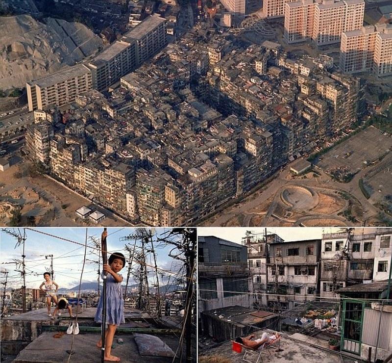 Город-крепость Коулун: самое густонаселенное место в мире