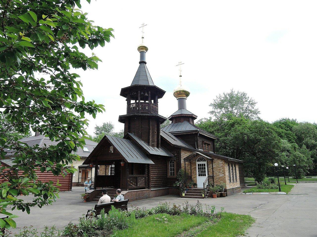 Больница. Церковь Николая Чудотворца