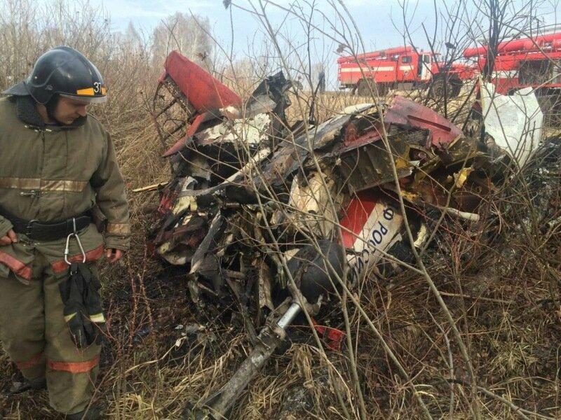 Под Челябинском упал самолёт