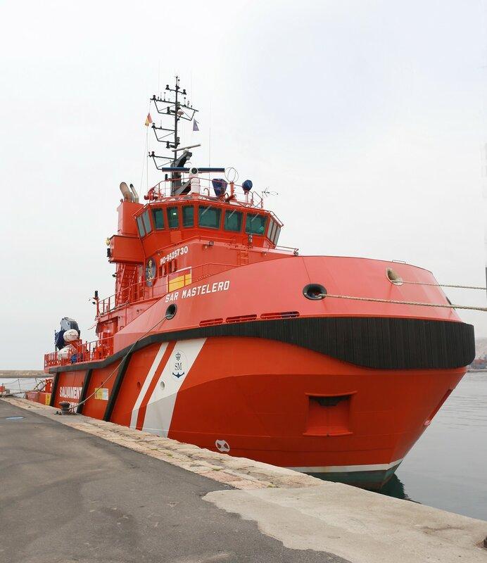 Спасательное судно SAR Mastelero (BS-23)