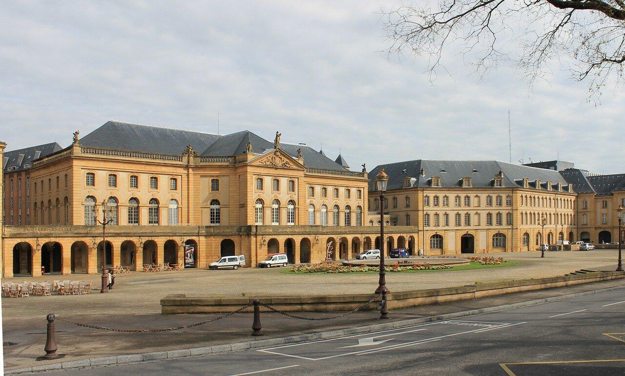 Мец. Площадь Комедии (Place de la Comédie)