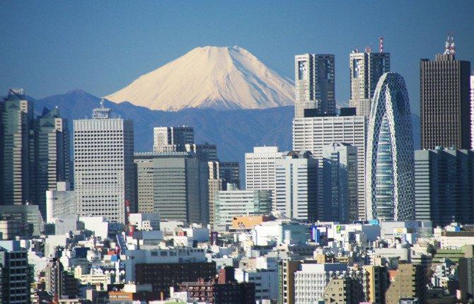 """""""Когда художник периода Эдо давал жизнь своему панно, нарисовав «Истинный Вид горы Фудзияма», он вов"""