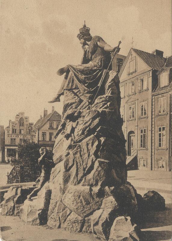 Bismarckbrunnen Flensburg - 1903