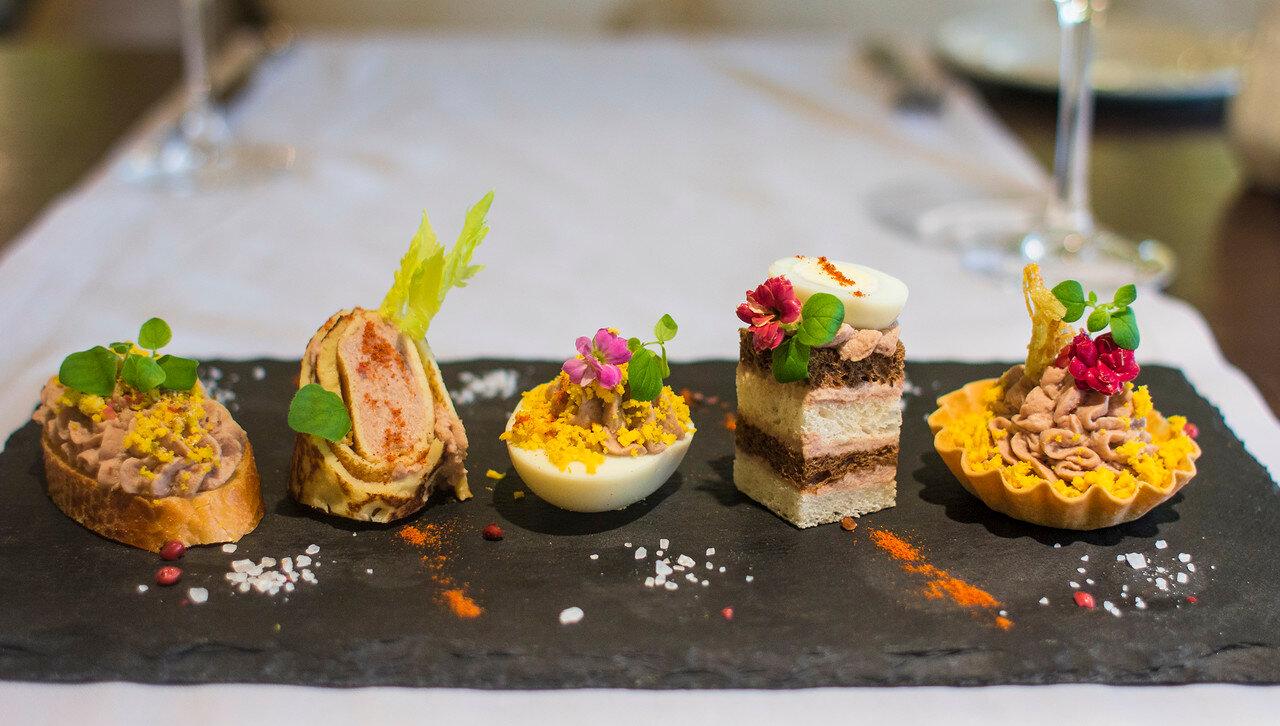 Рецепт канапе «Le Паште» на французском багете