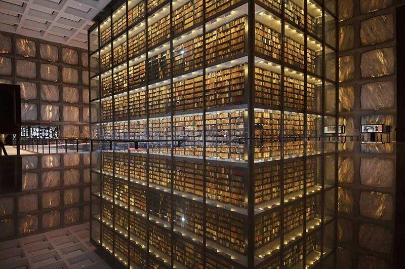 Библиотека редких книг и рукописей Бейнеке, Йельский университет, США.