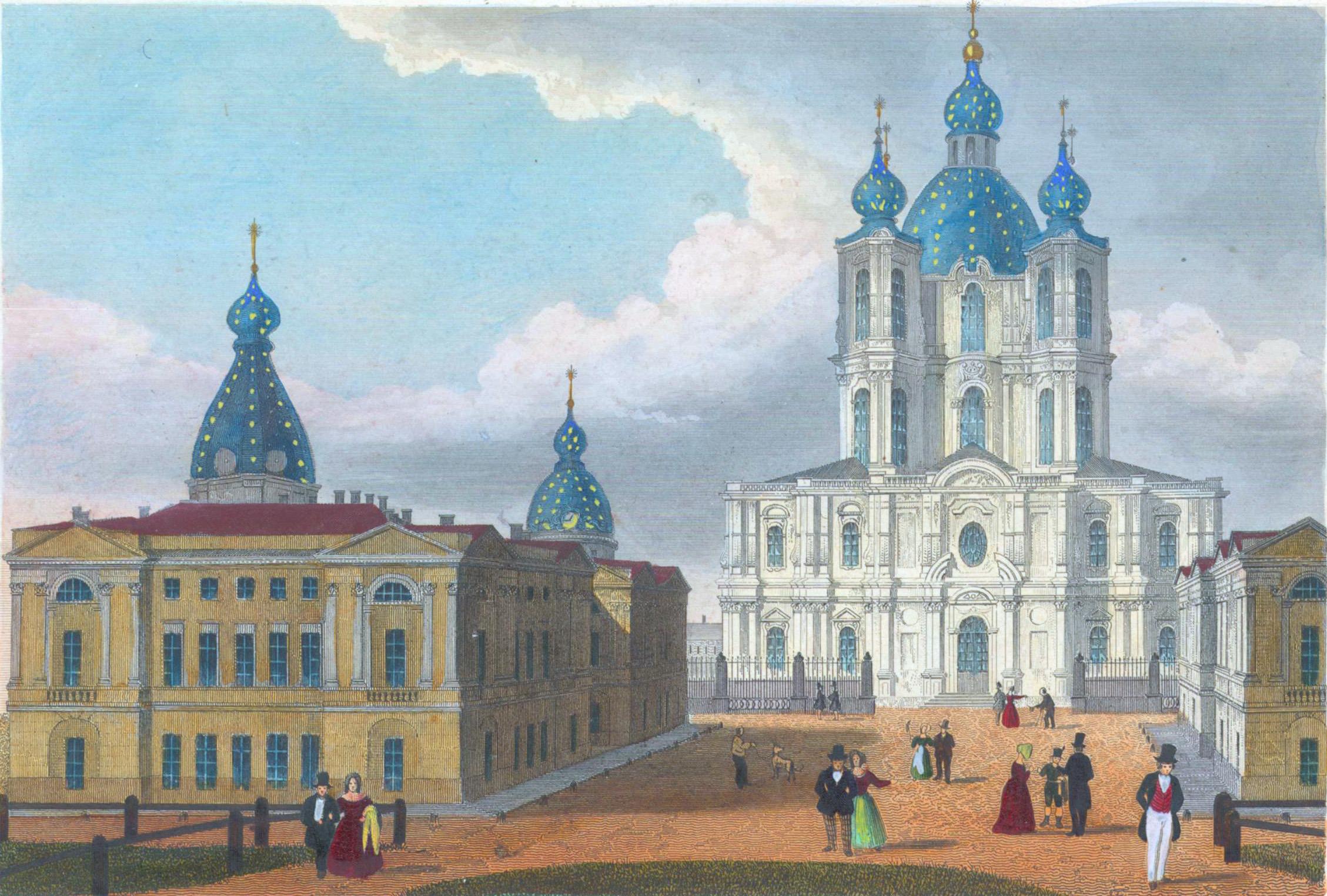 33. Церковь Смольного монастыря