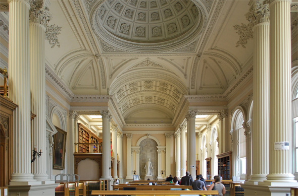 Osgoode Hall, small  Library by Marcanadian
