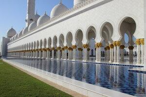 Абу-Даби. Мечеть Шейха Зайда.
