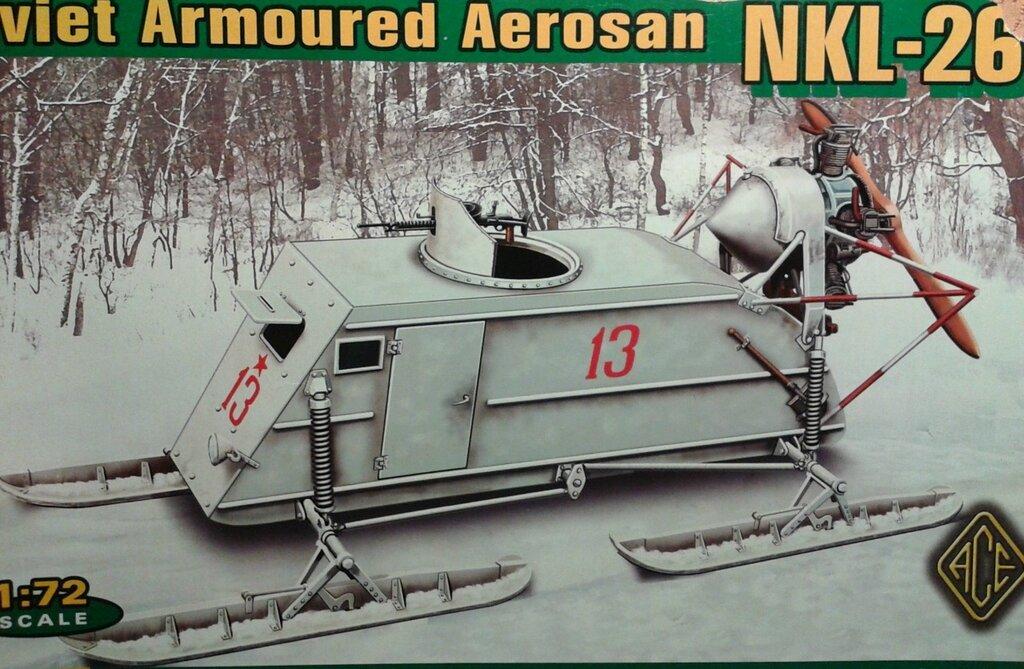 ACE 72515 Советские бронированные аэросани НКЛ-26.