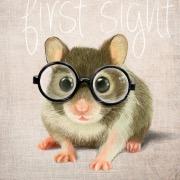 Мышонок в очках