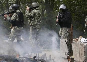 В Славянске сбит еще один вертолет военных