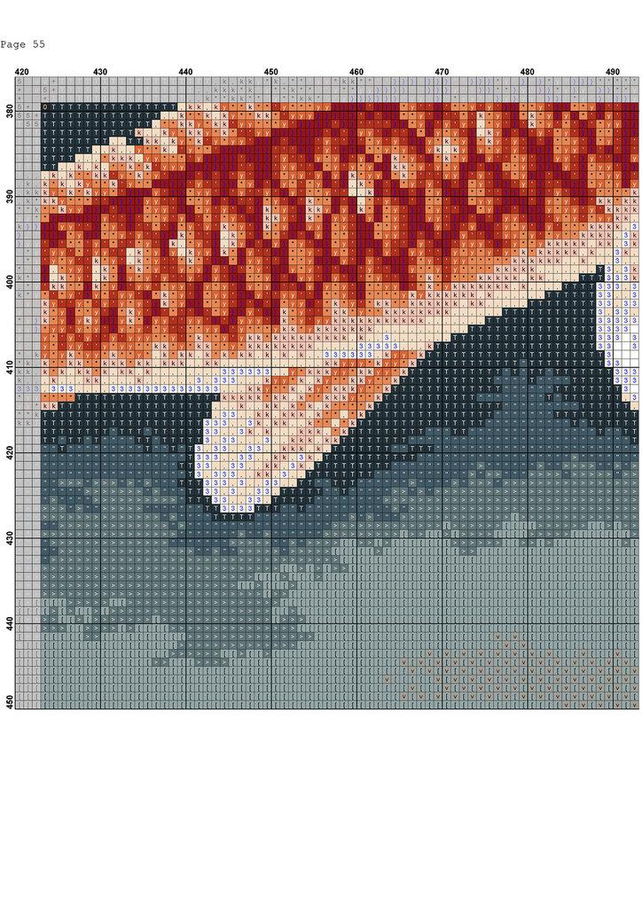 Золотые рыбки(вышивка)