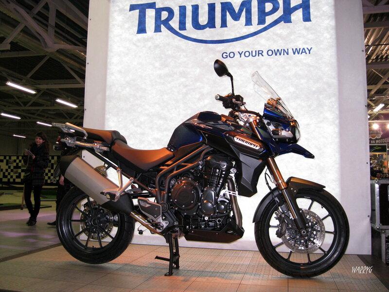 Новинка от компании TRIUMPH - мотоцикл TIGER EXPLORER.
