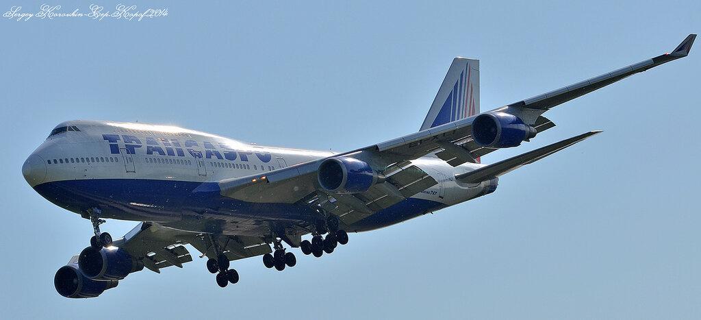 Boeing 747-400 Transaero Airlines