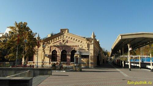 Город Кисловодск, Железнодорожный вокзал