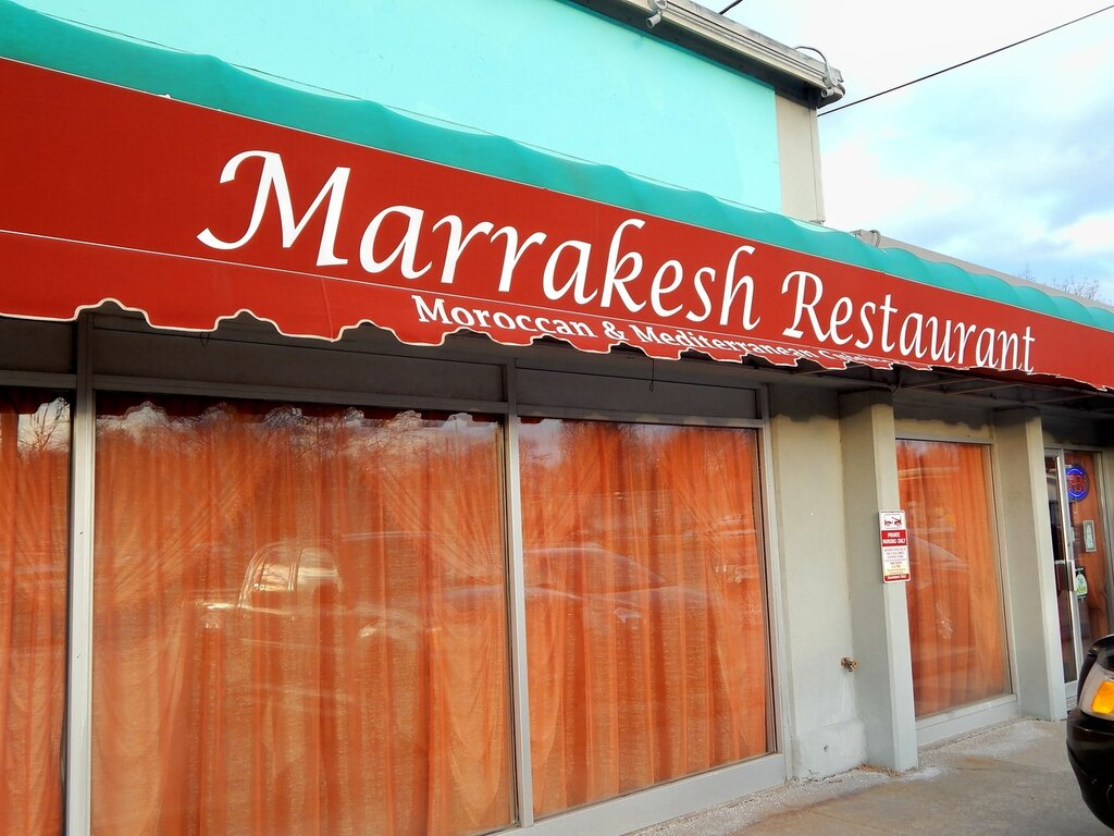 """Ресторан """"Маррокеш""""."""