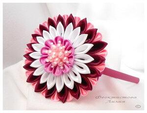 Прекрасные цветы канзаши - Страница 2 0_ec956_db79d9a0_M