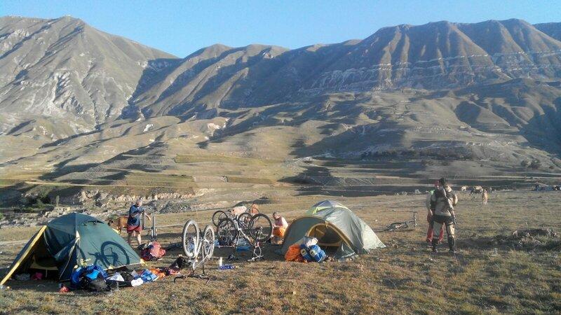 Утро в горах Дагестана