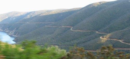 Road to lighthoyse, Sithonia