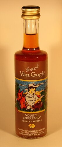 Водка Vincent Van Gogh Double Espresso Coffee Flavored Vodka