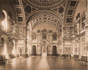 Интерьер Александровского зала  Большого Кремлёвского дворца.