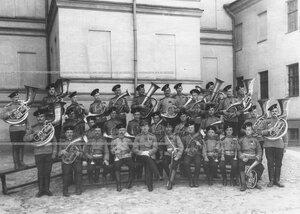 Оркестр батальона .