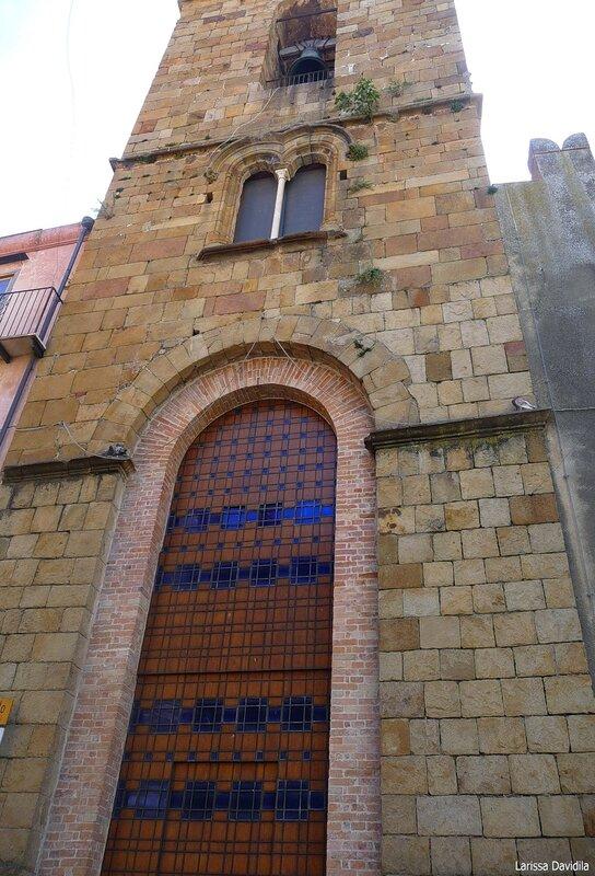 Колокольня церкви Matrice Vecchia. Castelbuono.
