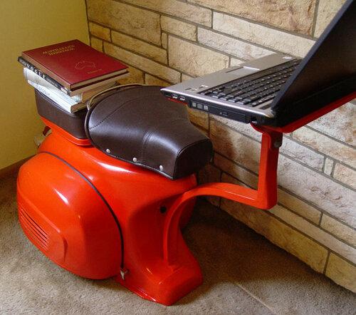 Мебель из скутера